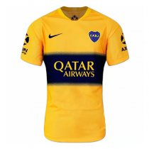19-20 Boca Juniors Away Yellow Soccer Jersey Shirt