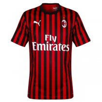 19-20 AC Milan Home Authentic Soccer Jersey (Player Version)