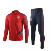 19-20 Arsenal Red Round Neck Training Suit