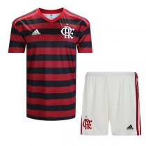 19-20 Flamengo Home Soccer Jersey Men Kit(Shirt+Short)