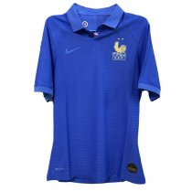 2019 France 100th Anniversary Edition Authentic Soccer Jersey(Player Version)