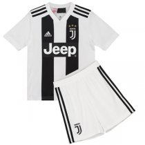 1819 Juventus Home Kid Jersey Kit