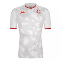 19-20 Tunisia Home White Soccer Jersey Shirt
