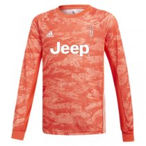 19-20 Juventus Orange Goalkeeper Long Sleeve Jersey