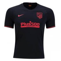 19-20 Atlético de Madrid Away Black Jersey Shirt