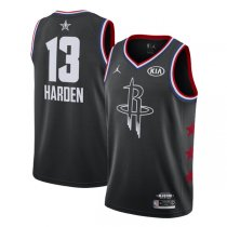 2019 All star Jordan Houston Rockets #13 James Harden Jersey Black