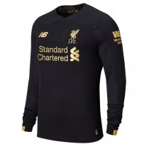 19-20 Liverpool Long Sleeve Black Goalkeeper Soccer Jersey Shirt