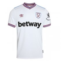19-20 West Ham United Away White Soccer Jersey Shirt