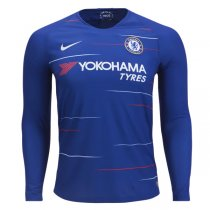 1819 Chelsea Long Sleeve Home Soccer Jersey