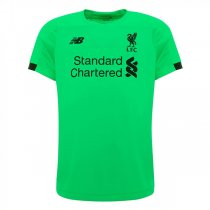 19-20 Liverpool Away Green Goalkeeper Soccer Jersey Shirt