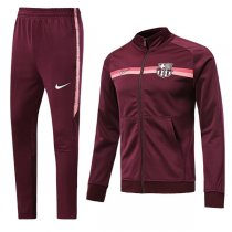 1819 Barcelona Jujube Red Training Jacket Kit