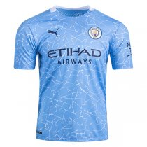 20-21 Manchester City Home Authentic Jersey (Player Version)