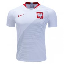 2018 World Cup Poland Home Jersey Shirt