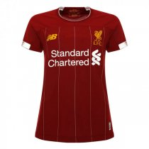 19-20 Liverpool Home Women Soccer Jersey Shirt