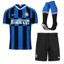 19-20 Intel Milan Home Soccer Jersey Men Full Kit(Shirt+Short+Sock)