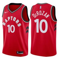 Toronto Raptors DeMar DeRozan 2017-18 Icon Red Jersey