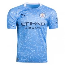20-21 Manchester City Home Jersey Shirt