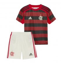 19-20 Flamengo Home Kids Kit