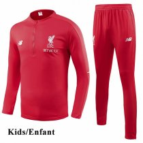 Kids 1819 Liverpool Red Tracksuit