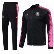 1819 PSG Black Sleeve Pink Training Jacket Kit