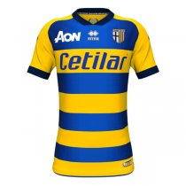 1819 Parma Away Yellow Soccer Jersey Shirt