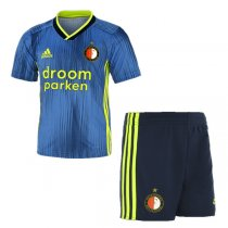 19-20 Feyenoord Away Jersey Kids Kit