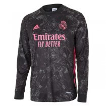 20-21 Real Madrid Third Long Sleeve Soccer Jersey
