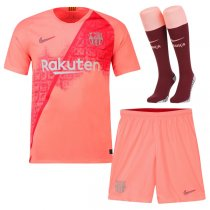 1819 Barcelona Third Soccer Jersey Full Kit