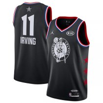 2019 All star Jordan Boston Celtics #11 Kyrie Irving Jersey Black