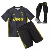 1819 Juventus Third Jersey Kid Full Kit