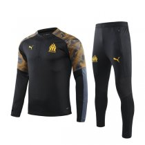 19-20 Marseille Black Zebra Training Suit