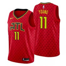 Atlanta Hawks Trae Young Red Basketball Jersey