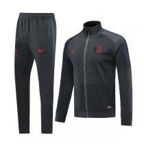 19-20 PSG Black High Neck Jacket Kit