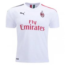 19-20 AC Milan Away White Soccer Jersey Shirt