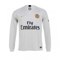18-19 PSG Away Long Sleeve Soccer Jersey Shirt