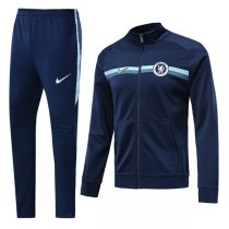 1819 Chelsea Navy Blue Training Jacket Kit