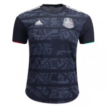 2019 Mexico Home Black Authentic Soccer Jersey( Player Version)