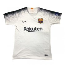 1819 Barcelona White Soccer Training Jersey