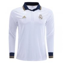 19-20 Real Madrd Icon Long Sleeve Jersey White