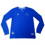 2019-2020 Cruzeiro Home Long Sleeve Soccer Jersey Shirt