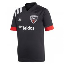 2020 DC United Home Black Soccer Jersey