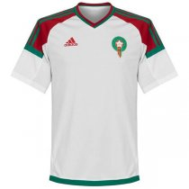 2018 World Cup Morocco Away White Soccer jersey