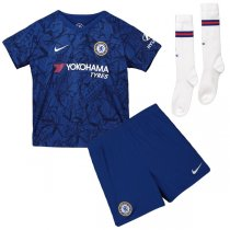 19-20 Chelsea Home Soccer Jersey Kids Full Kit