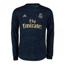 19-20 Real Madrid Away Long Sleeve Soccer Jersey