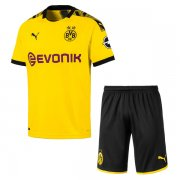 19-20 Borussia Dortmund Home Soccer Jersey Men Kit(Shirt+Short)