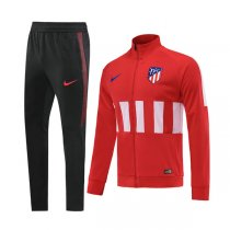 19-20 Atletico Madrid Red High Neck Jacket Kit