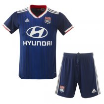 19-20 Olympique Lyon Away Jersey Men Kit(Shirt+Short)