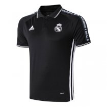 2019 Real Madrid Black Polo Shirt