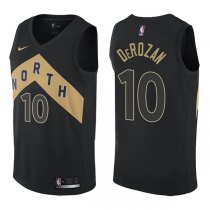 Toronto Raptors DeMar DeRozan City Edition Black Jersey