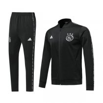 19-20 Ajax Black V-Neck Jacket Kit